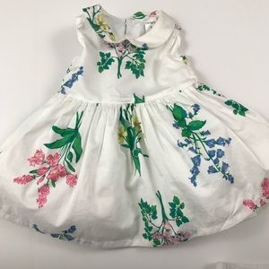 Baby girl dress 3 months white